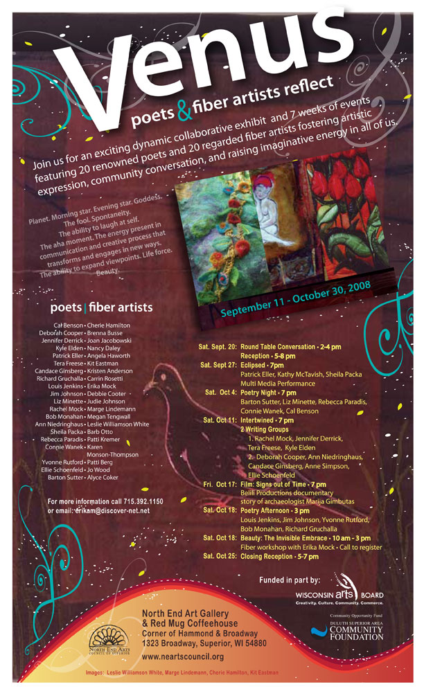 Poster Venus Show and Events