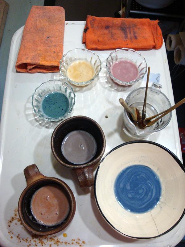 Ready to dye