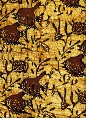 Batik with fish, purchased 1972-ish
