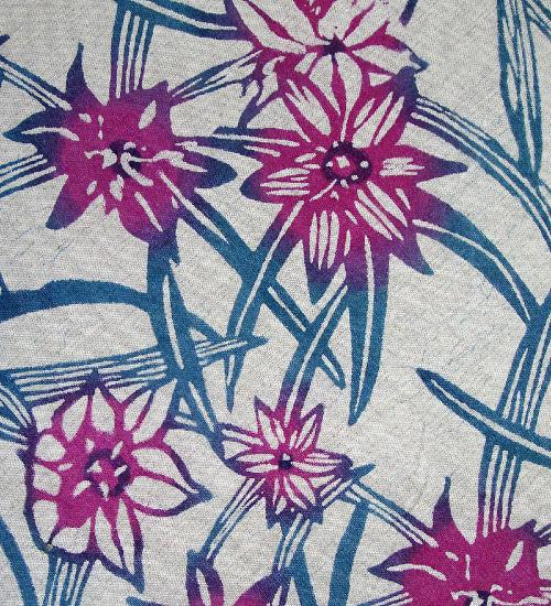 Tulip pattern detail. © Kit Eastman