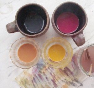 natural pigments in soy milk